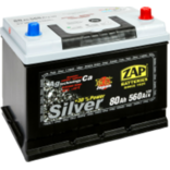Аккумулятор Zap Japan Silver 80Ah (58070) - PitstopShop