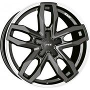 ATS Temperament 8.5x18/5x108 ET 48 Dia 70.1 Blizzard Grey Lip Polished - PitstopShop