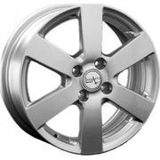Chevrolet GM41 6x15/4x100 ET 39 Dia 56.6 silver - PitstopShop