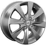Chevrolet GM42 6x15/4x100 ET 45 Dia 56.6 silver - PitstopShop