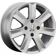 Peugeot PG10 6x15/4x108 ET 27 Dia 65.1 silver - PitstopShop
