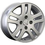 Peugeot PG17 7.5x17/4x108 ET 32 Dia 65.1 silver - PitstopShop
