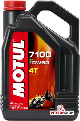 Моторное масло Motul 7100 4Т SAE 10W-60 4л - фото 8
