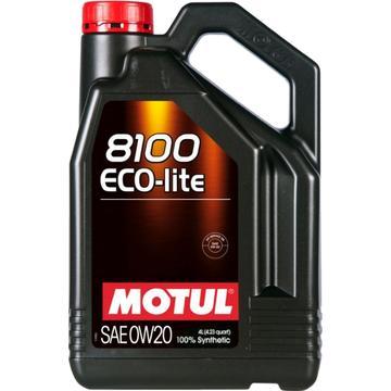 Моторное масло Motul 8100 Eco-lite 0W-20, 4 л - Pitstopshop