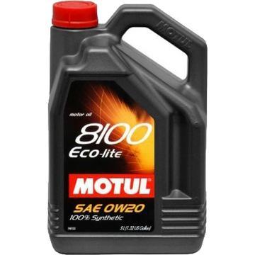 Моторное масло Motul 8100 Eco-lite 0W-20, 5 л - Pitstopshop