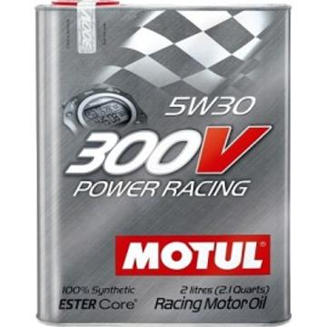 Моторное масло Motul 300V Power Racing 5W-30, 2 л - Pitstopshop
