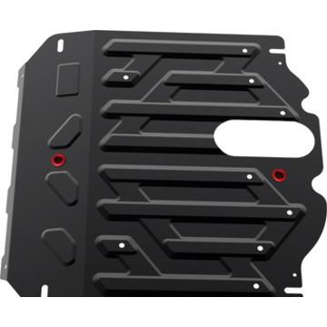 Защита картера и КПП Hyundai Santa Fe , V - 2,2D; 2,4i; 2012- - Pitstopshop