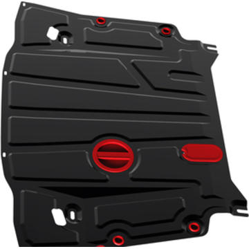 Защита картера и КПП Nissan Qashqai CVT, V - 2,0; 2014- - Pitstopshop