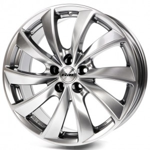 Rial Lugano 7.5x16/5x112 ET 38 Dia 70.1 sterling silber - Pitstopshop